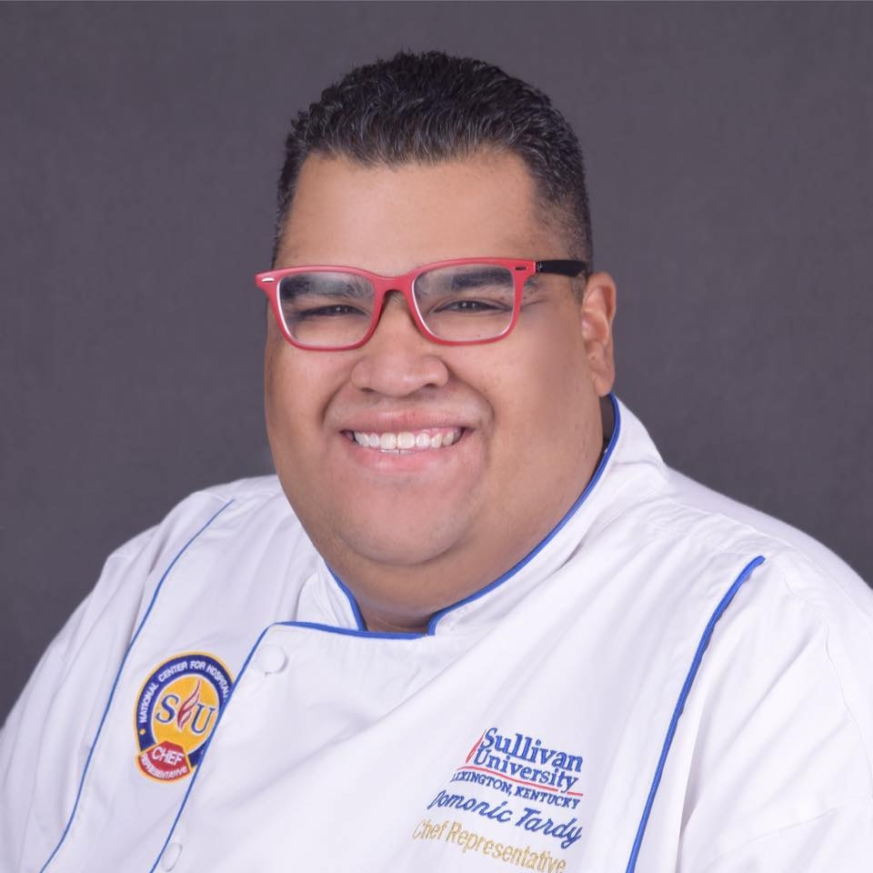 Chef Domonic Tardy Sullivan University
