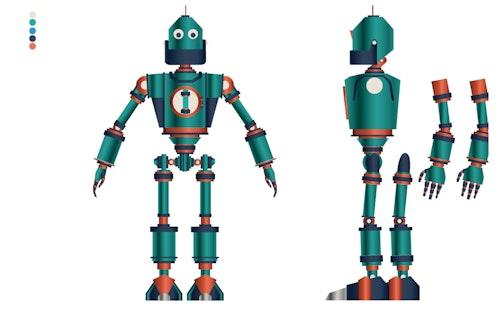 Wilderjoe Robotcharacterttrace