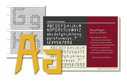 Typography Refro